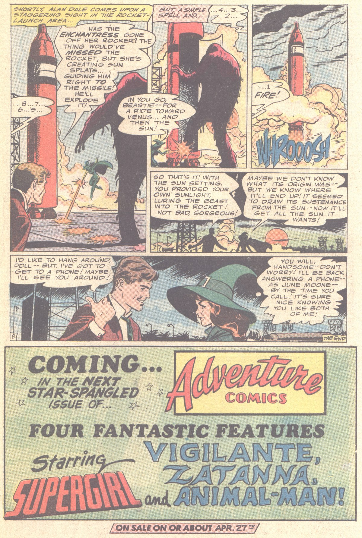 Read online Adventure Comics (1938) comic -  Issue #419 - 49