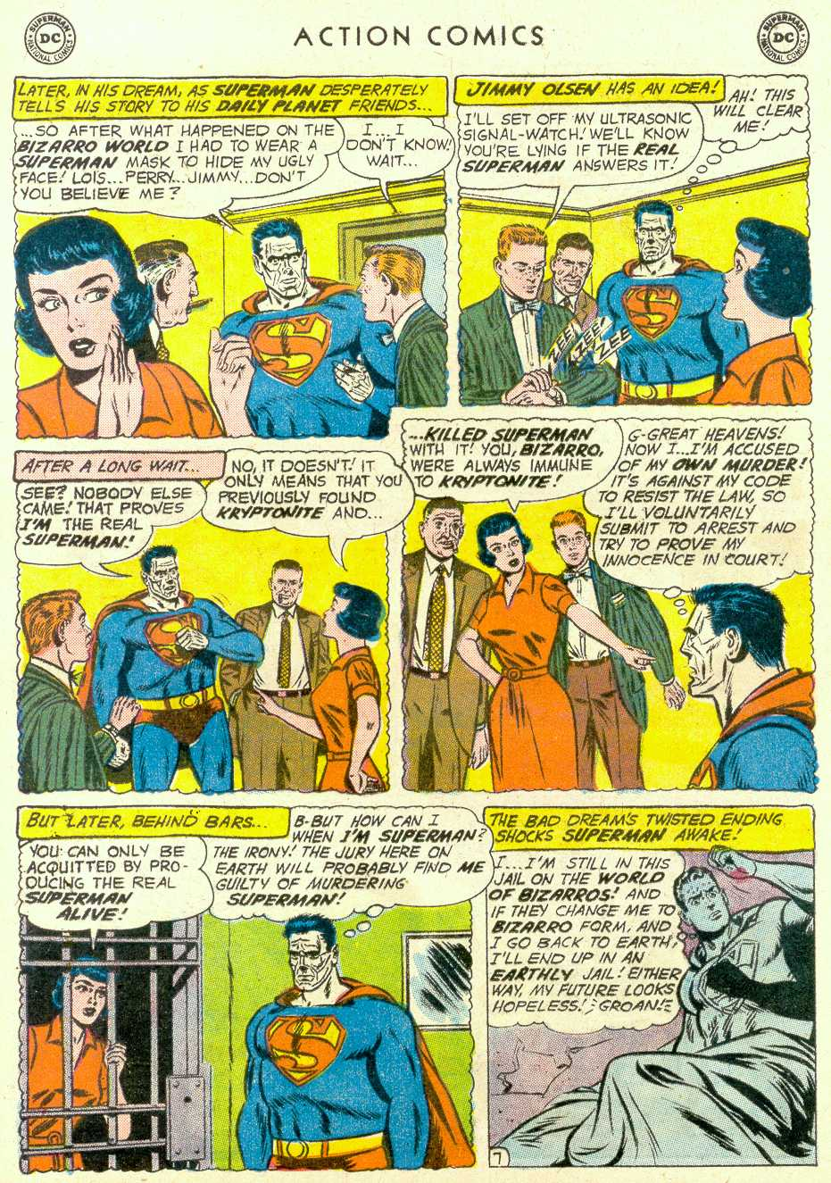 Read online Action Comics (1938) comic -  Issue #264 - 9