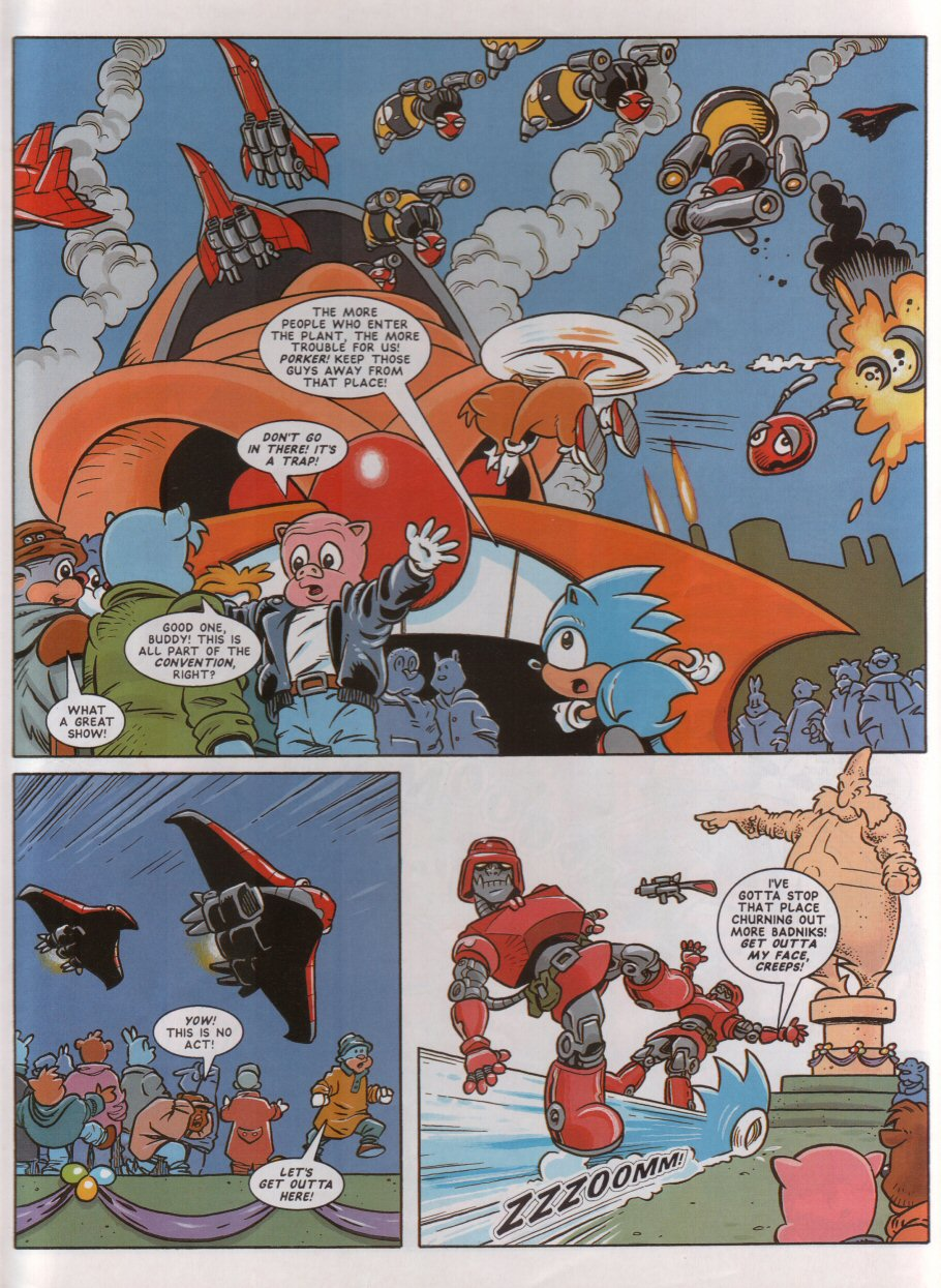 Read online Sonic the Comic comic -  Issue #46 - 7