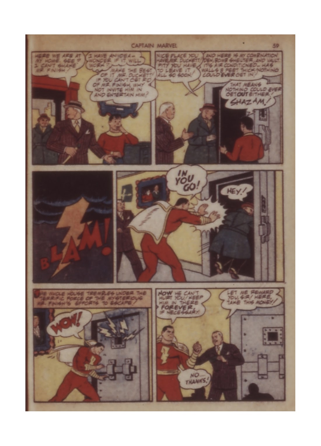 Captain Marvel Adventures issue 11 - Page 59