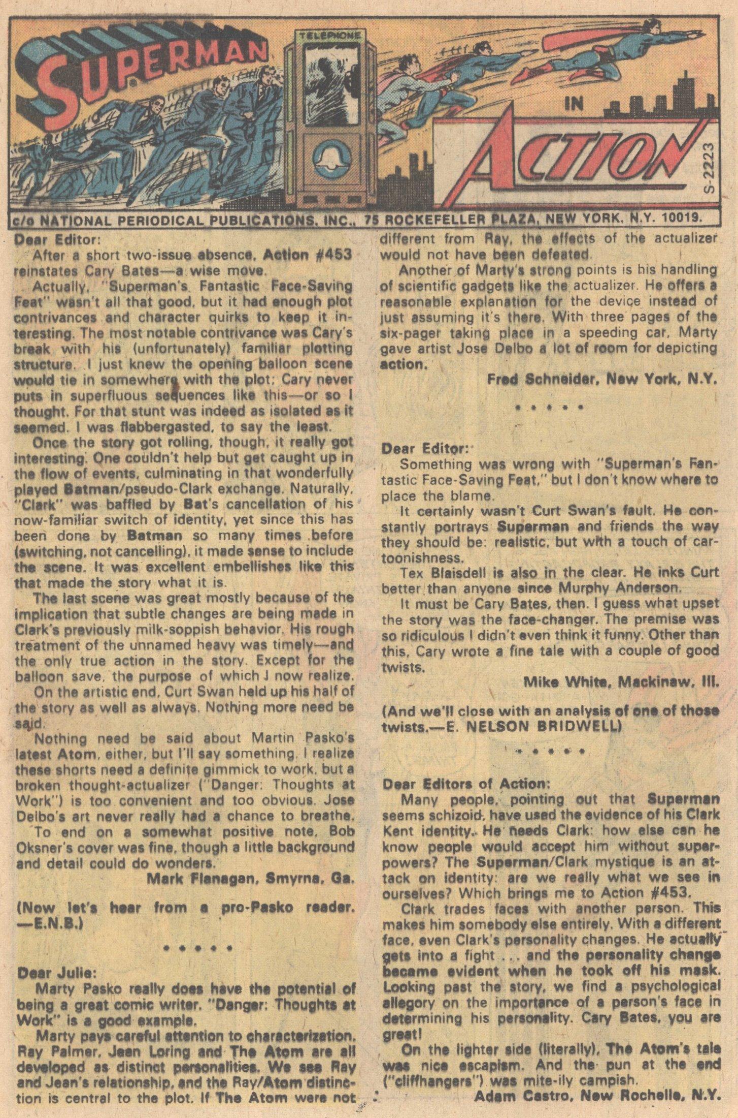 Action Comics (1938) 457 Page 11