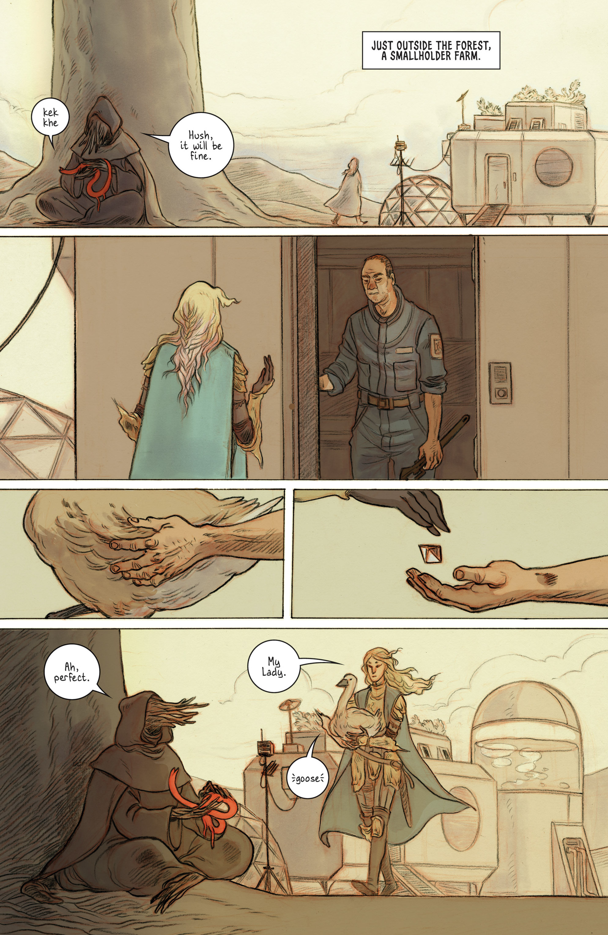 Read online 8House comic -  Issue #1 - 6