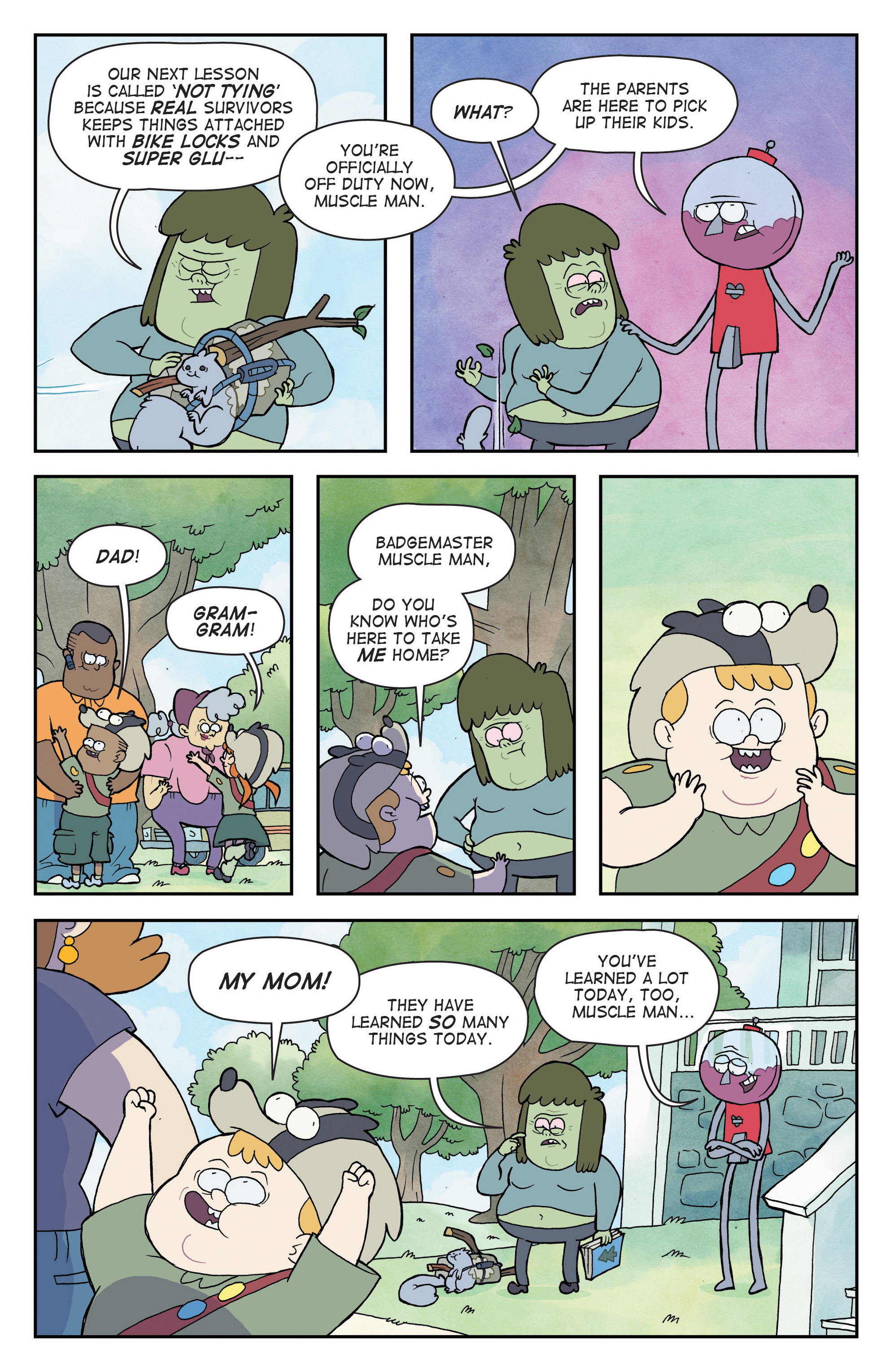 Read online Regular Show comic -  Issue # _Annual 1 - 28