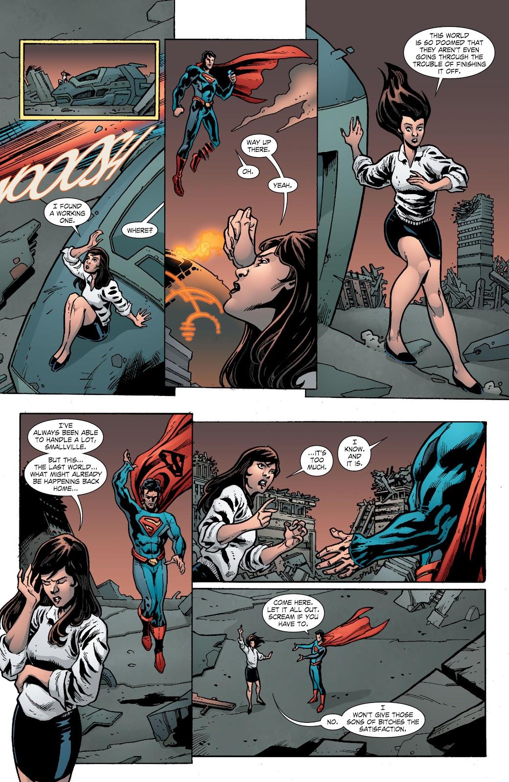Read online Smallville Season 11 [II] comic -  Issue # TPB 8 - 115