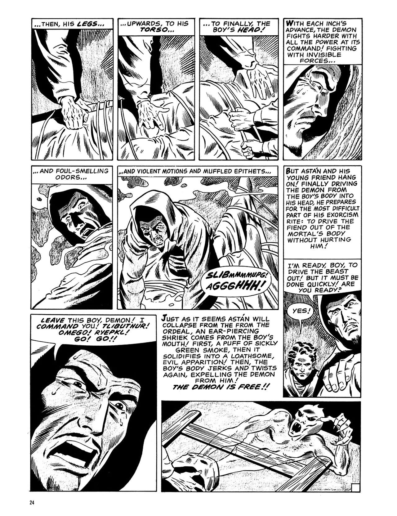 Read online Eerie Archives comic -  Issue # TPB 6 - 25