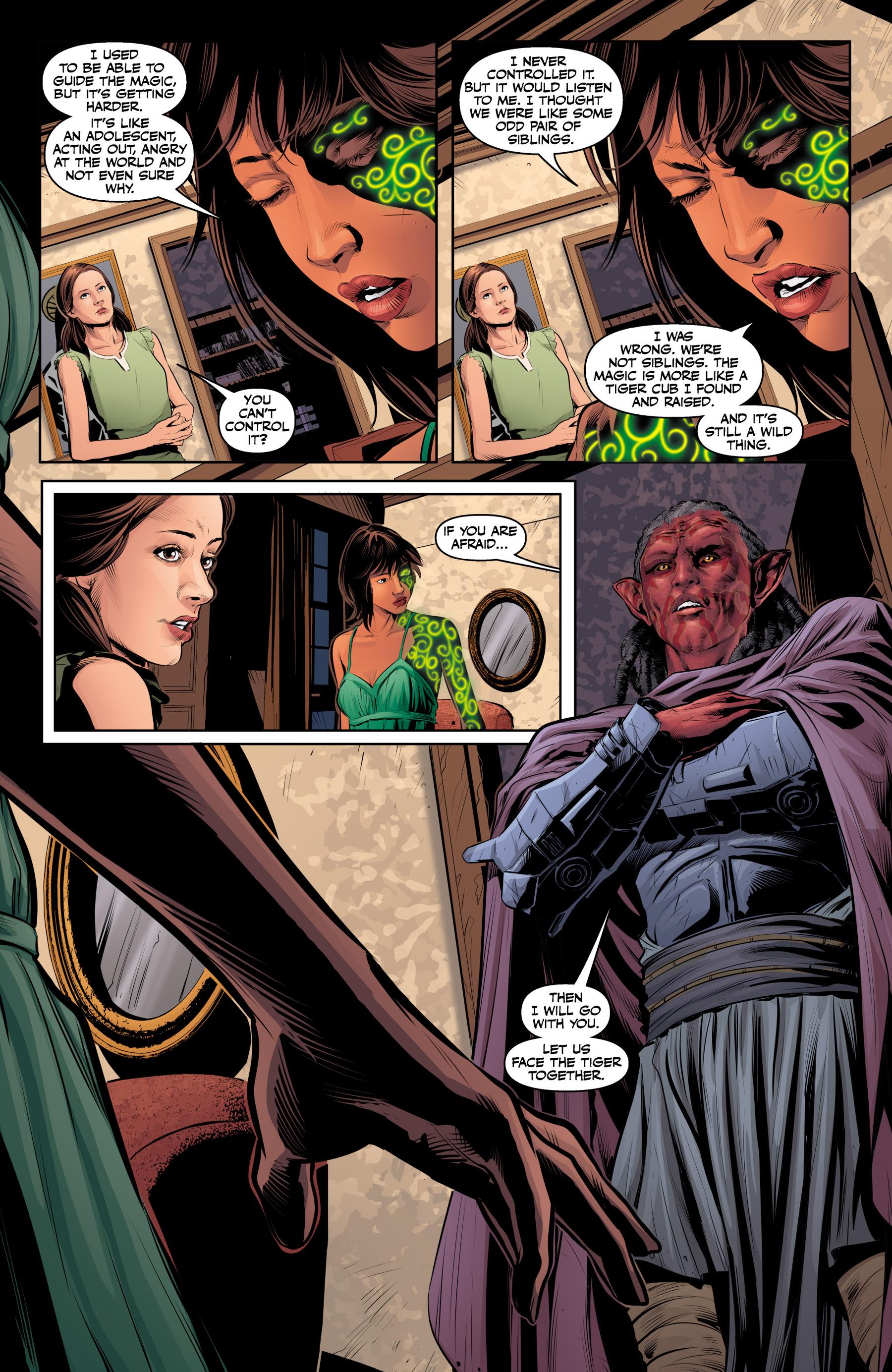 Read online Angel & Faith Season 10 comic -  Issue #23 - 7
