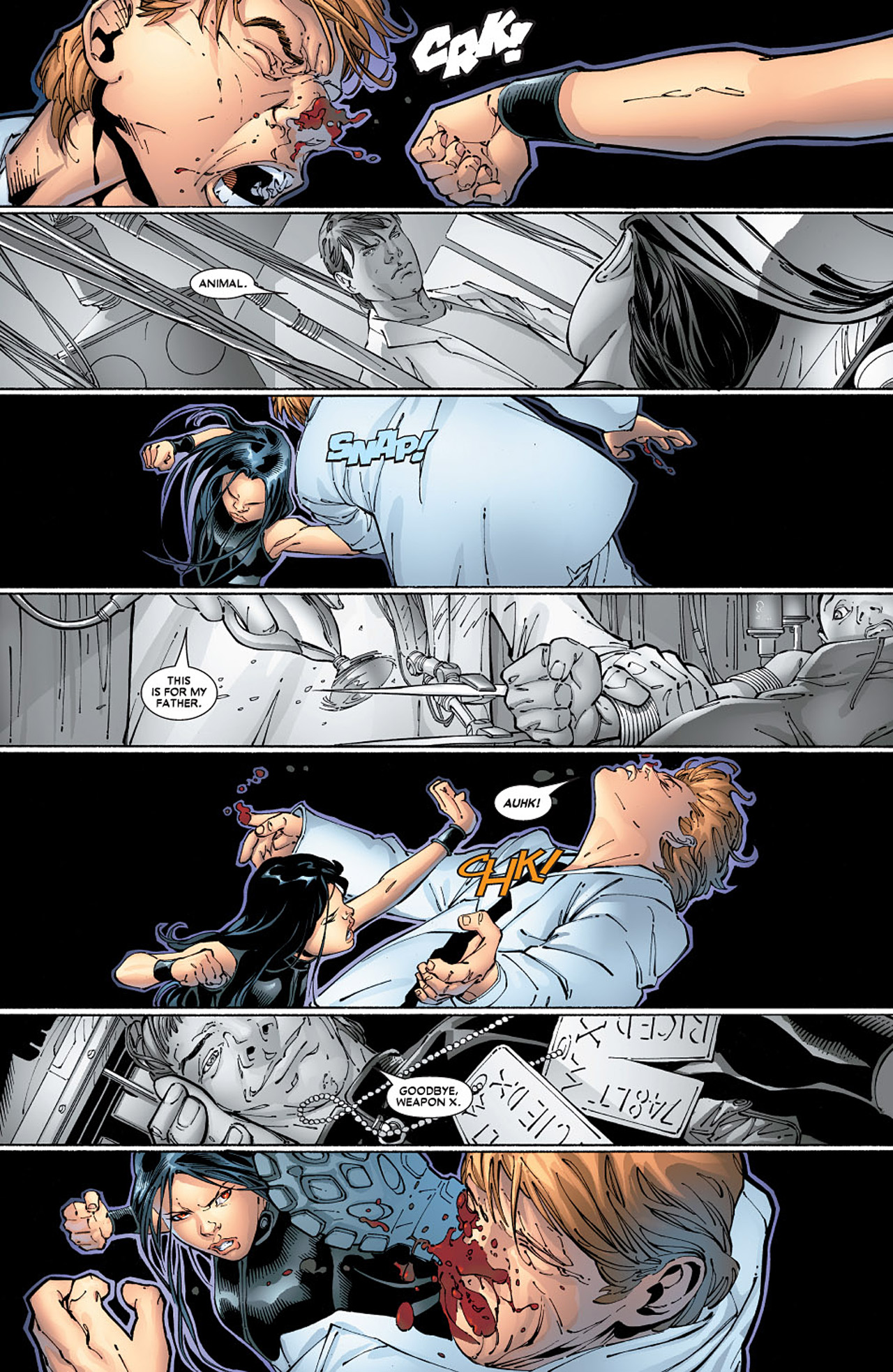 Read online X-23 (2005) comic -  Issue #6 - 15