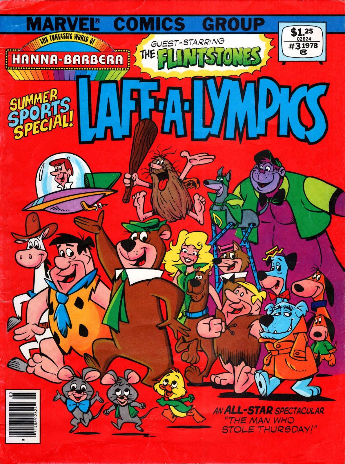 Flintstones Visits Laff-A-Lympics issue Full - Page 1