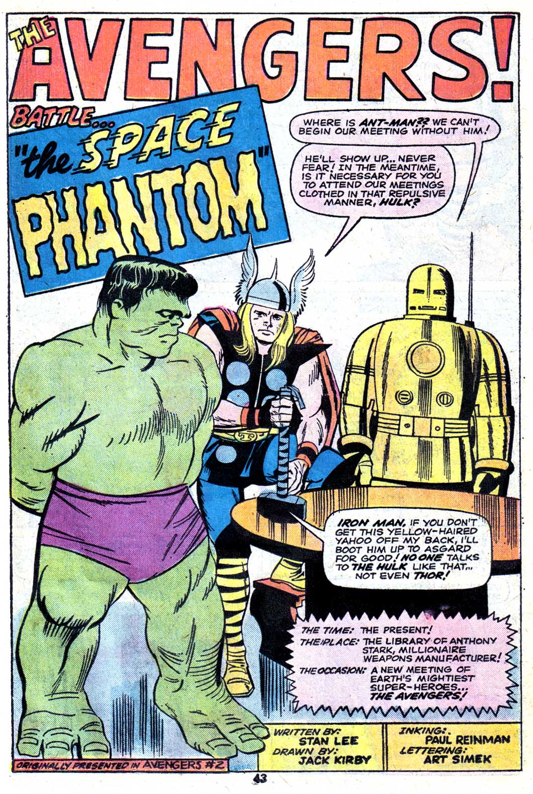 Giant-Size Avengers (1974) issue 3 - Page 45