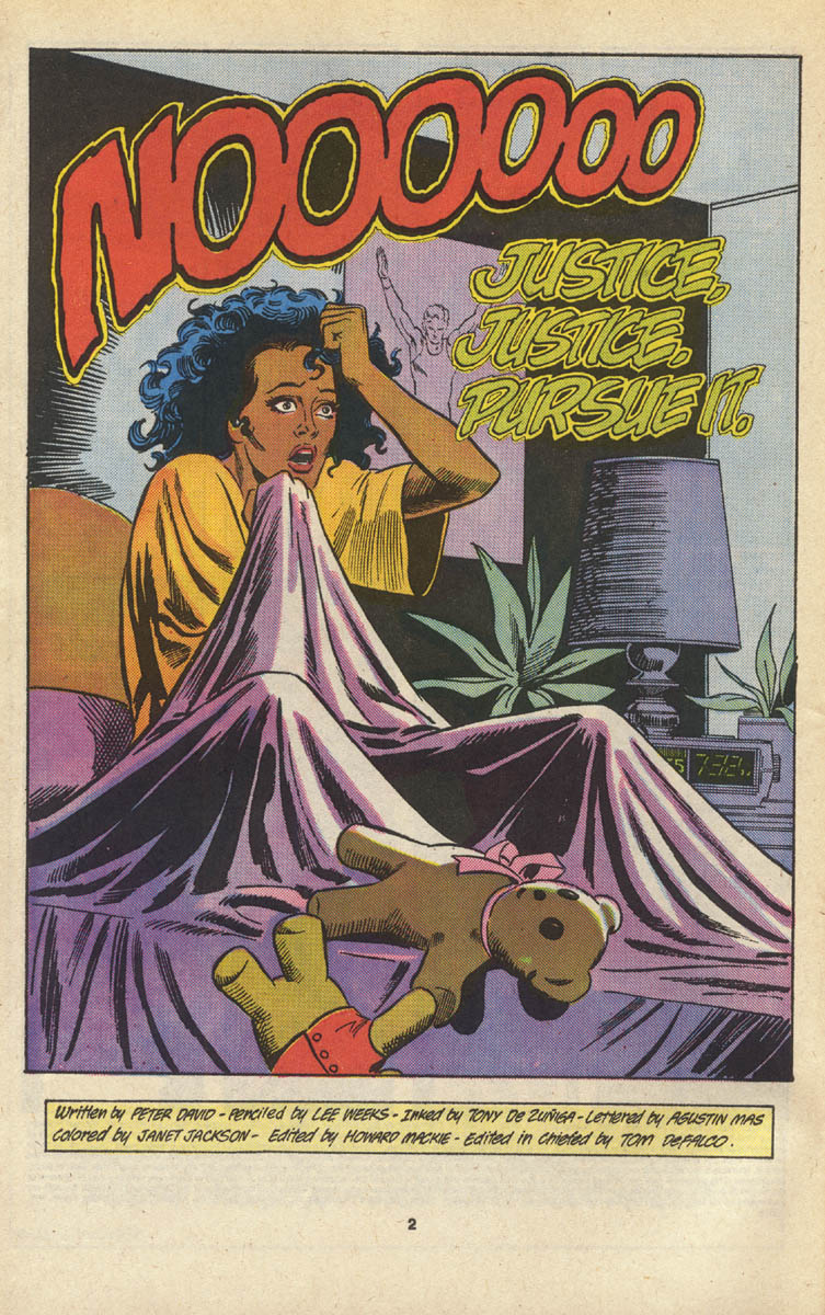 Read online Justice (1986) comic -  Issue #16 - 3