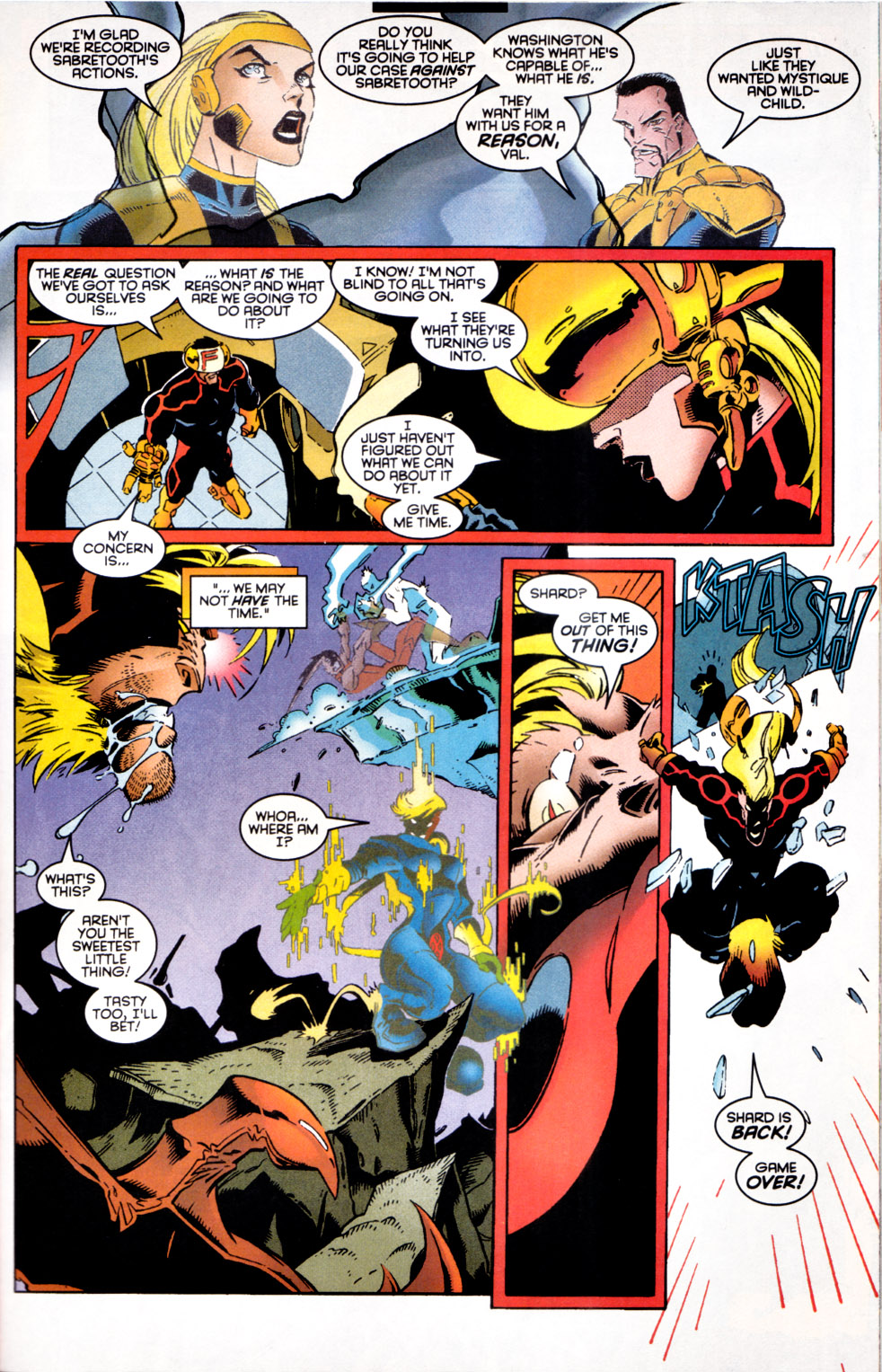 Read online X-Factor (1986) comic -  Issue #124 - 10