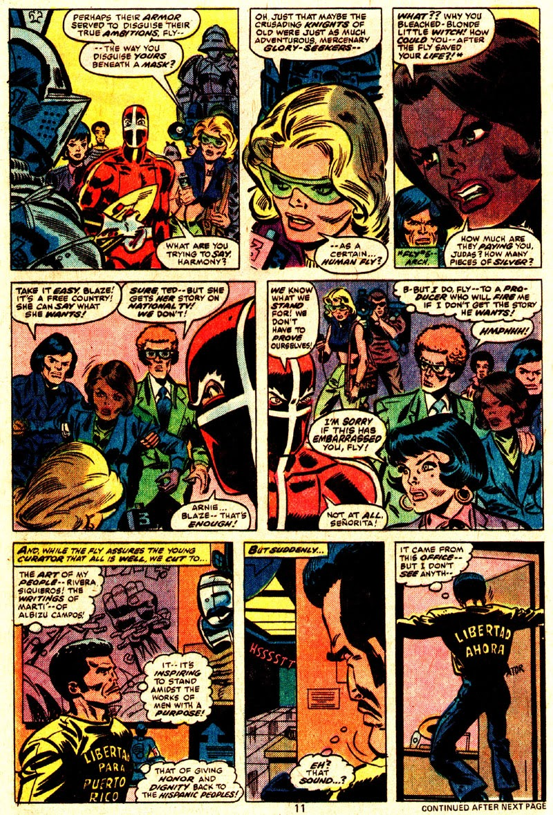 The Human Fly issue 8 - Page 8