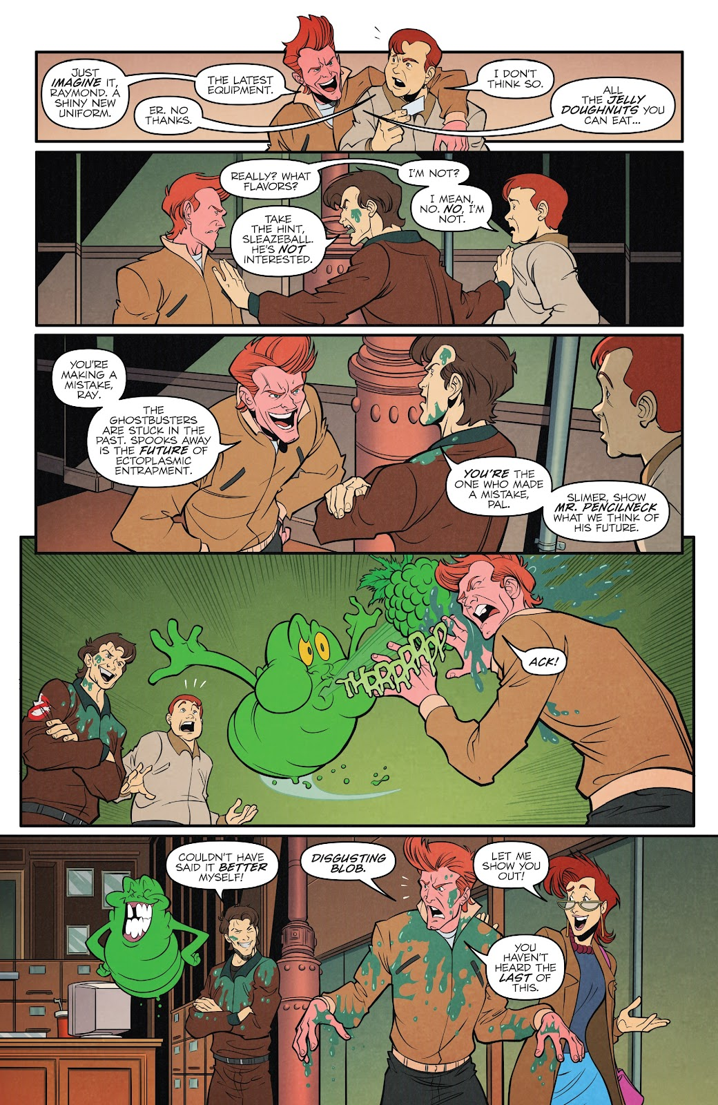 Read online Ghostbusters 35th Anniversary: The Real Ghostbusters comic -  Issue # Full - 13