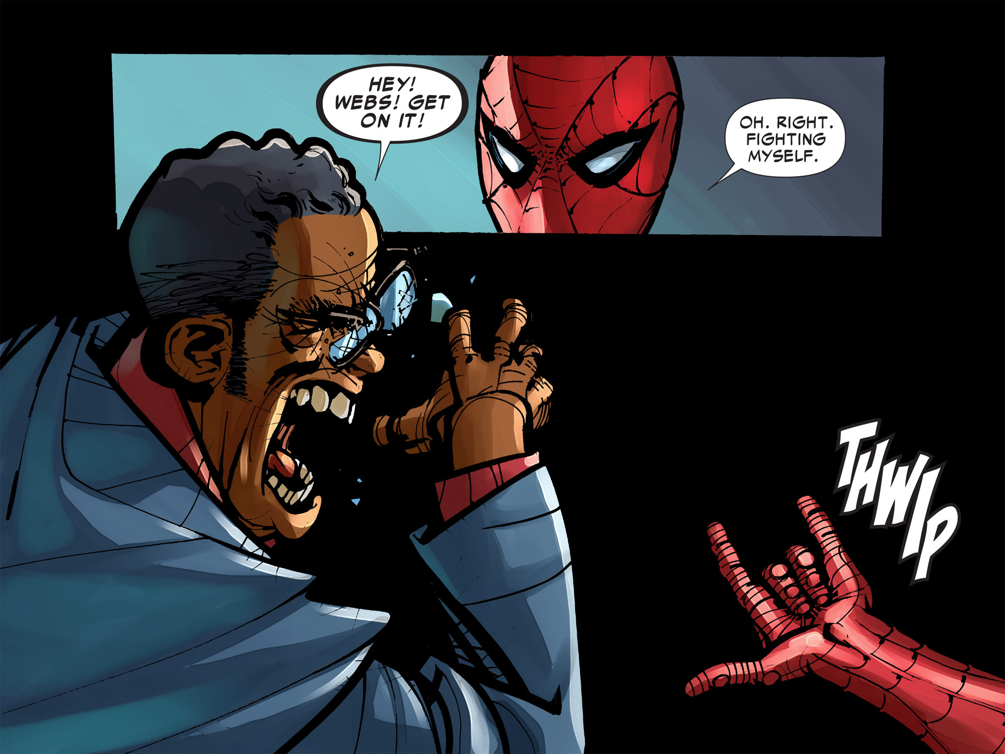 Read online Amazing Spider-Man: Who Am I? comic -  Issue # Full (Part 2) - 131