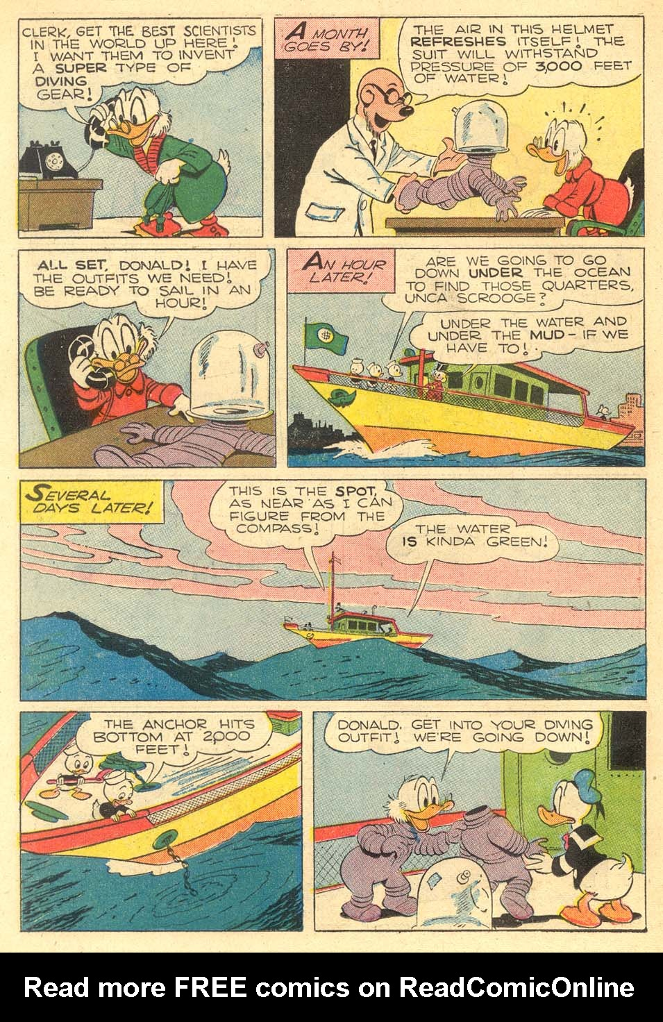 Read online Uncle Scrooge (1953) comic -  Issue #5 - 18