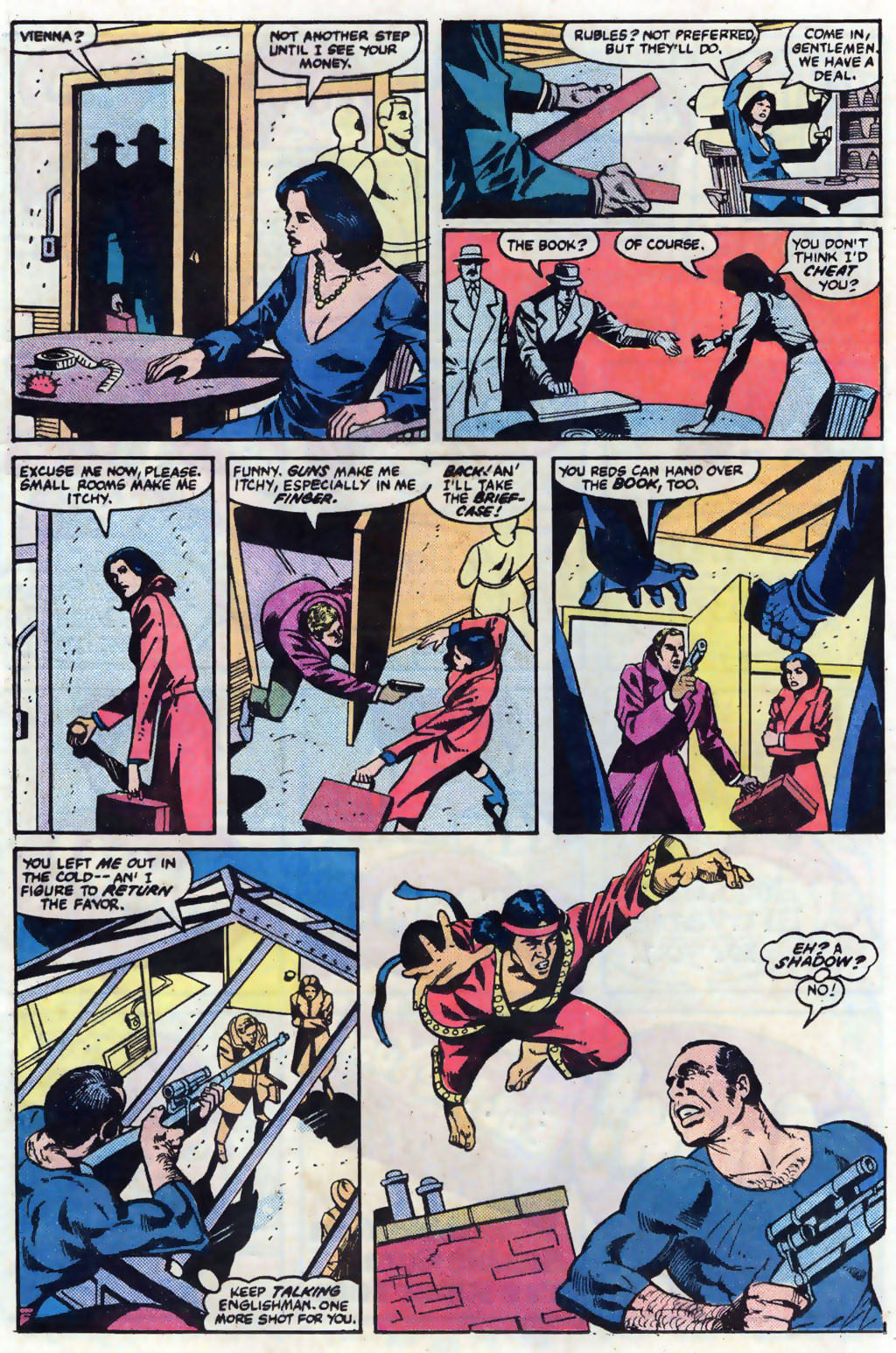 Read online Master of Kung Fu (1974) comic -  Issue #121 - 17