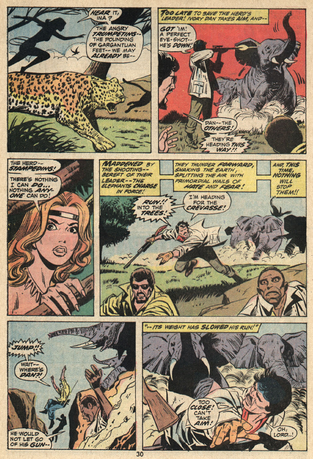 Read online Shanna, the She-Devil (1972) comic -  Issue #1 - 21