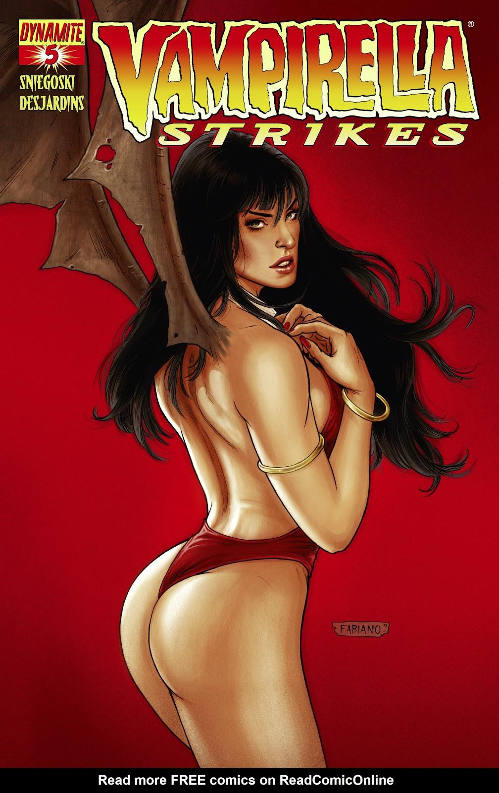 Read online Vampirella Strikes comic -  Issue #5 - 2