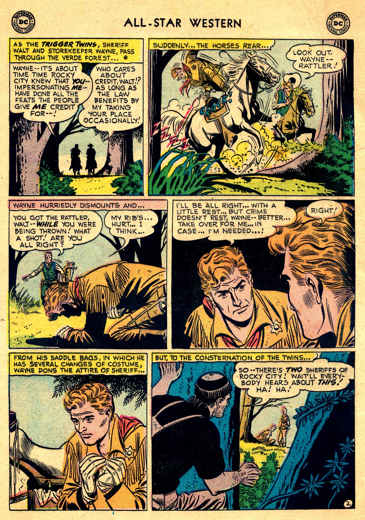 Read online All-Star Western (1951) comic -  Issue #93 - 4
