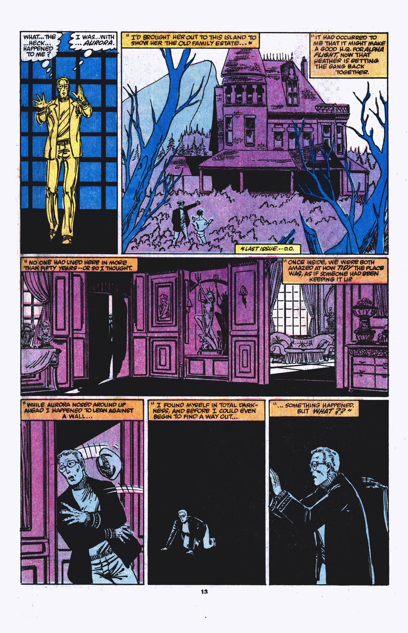 Read online Alpha Flight (1983) comic -  Issue #21 - 14