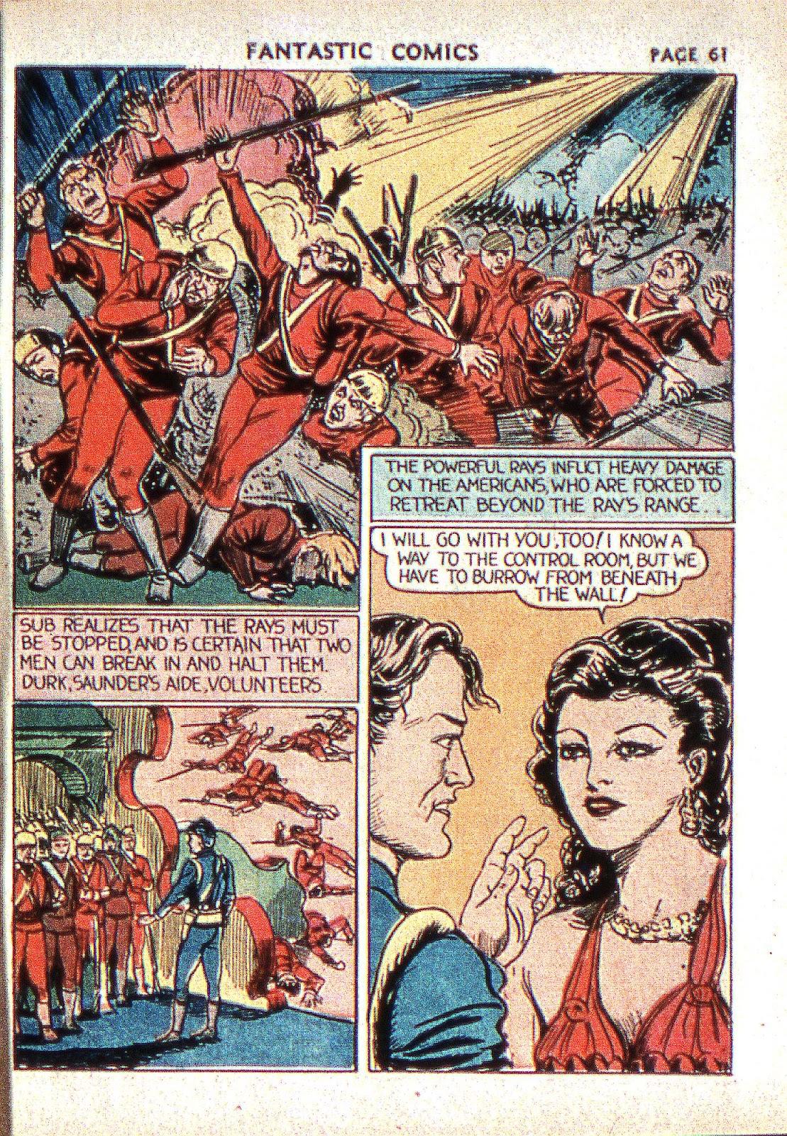 Read online Fantastic Comics comic -  Issue #2 - 62
