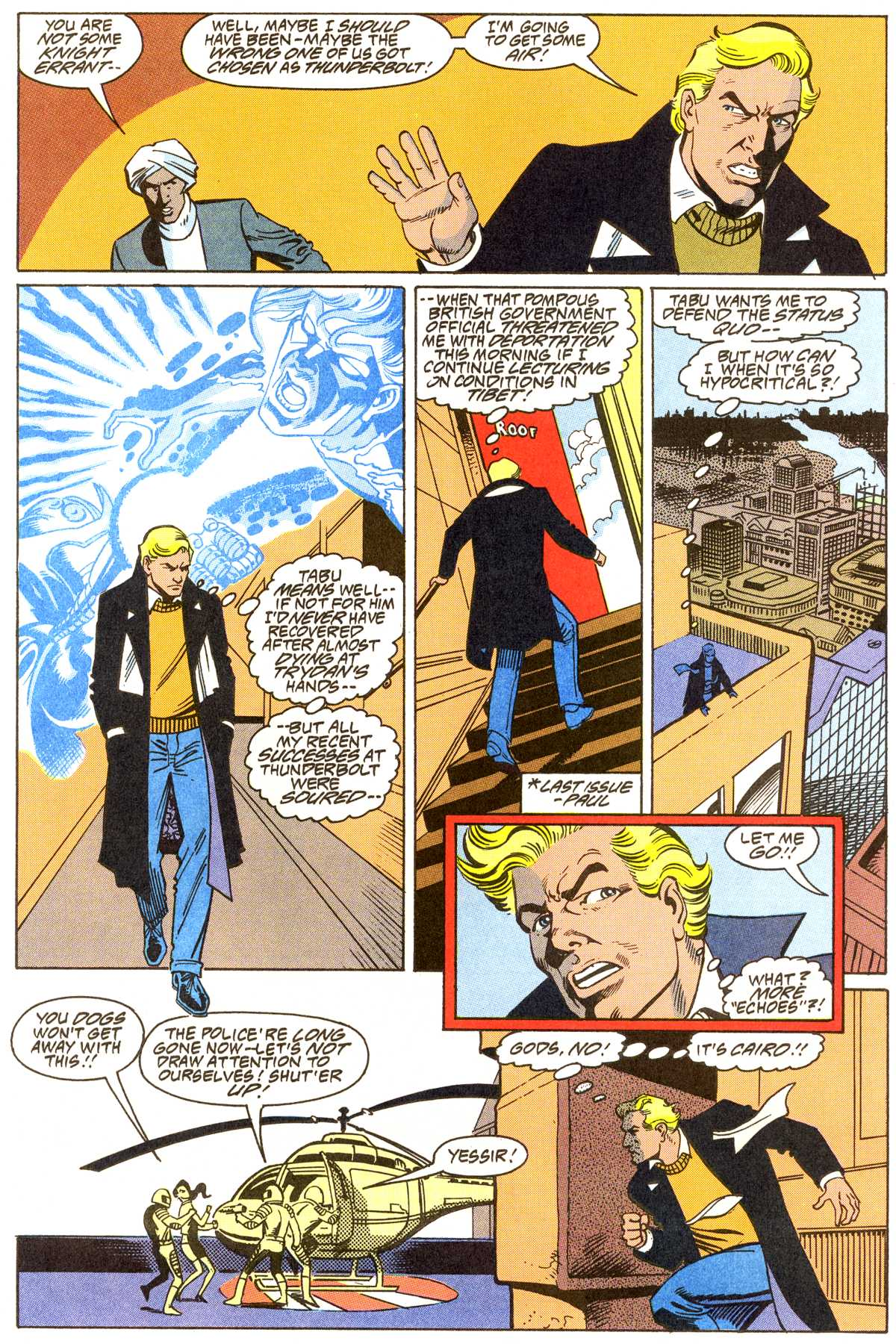 Read online Peter Cannon--Thunderbolt (1992) comic -  Issue #8 - 10