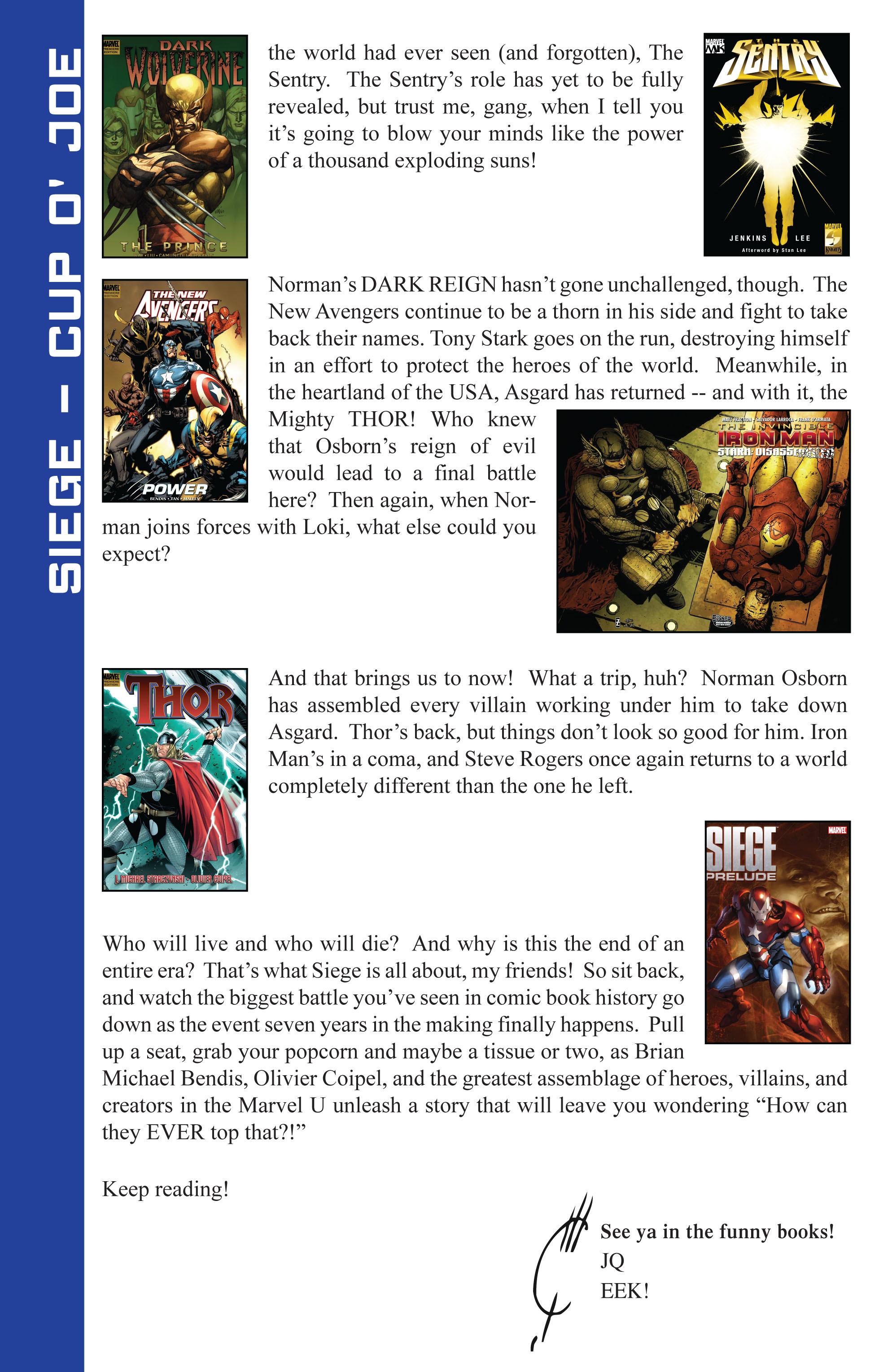 Read online Siege (2010) comic -  Issue #1 - 27