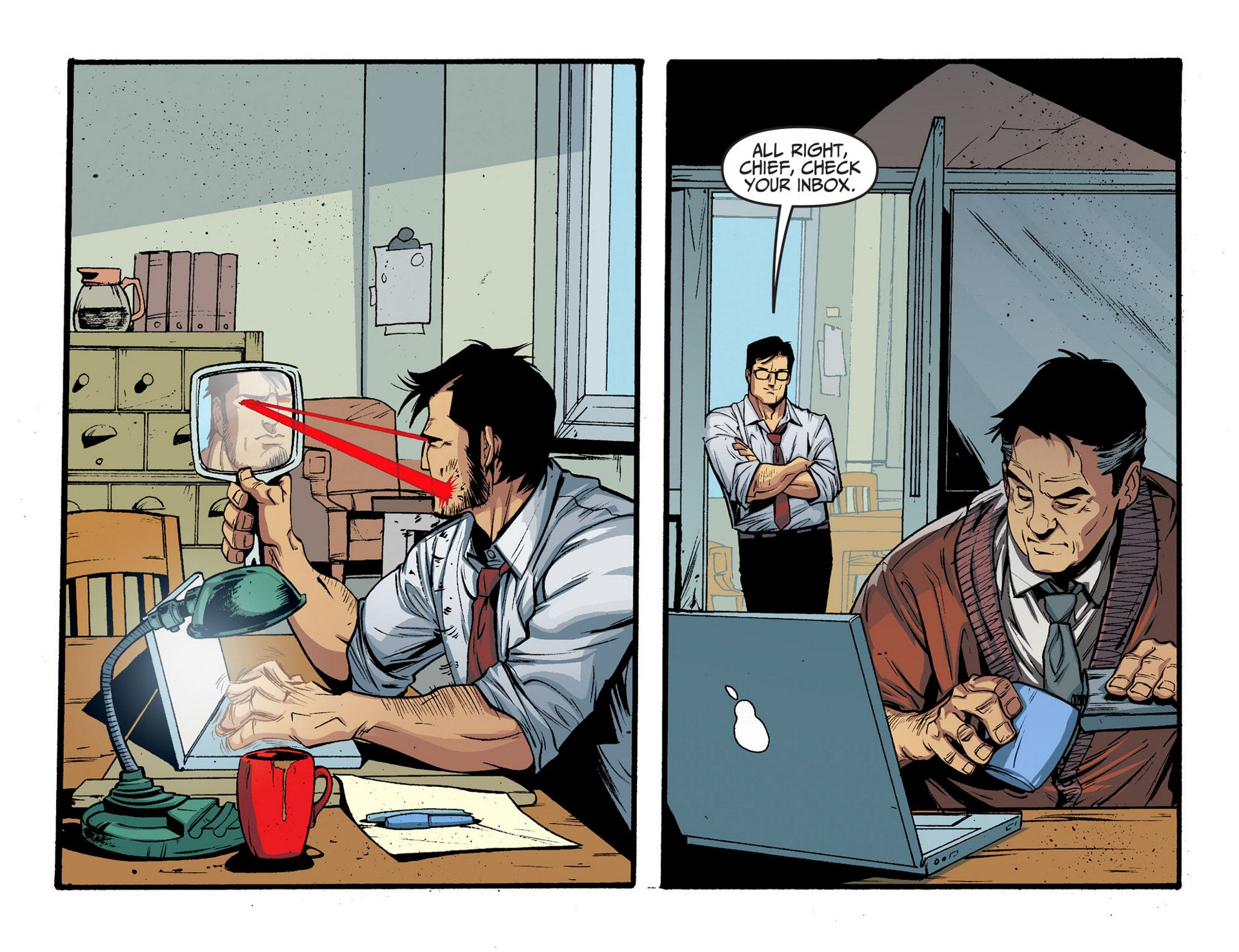Read online Adventures of Superman [I] comic -  Issue #5 - 20