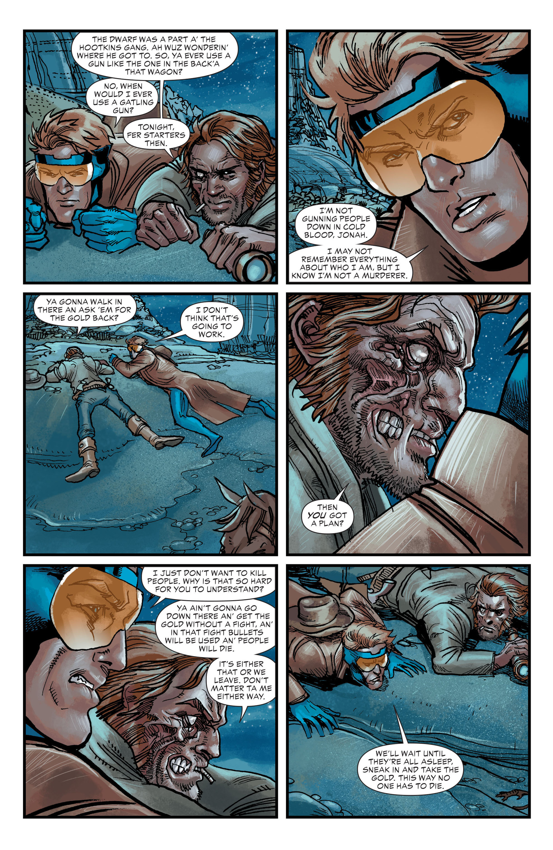 Read online All-Star Western (2011) comic -  Issue #20 - 13