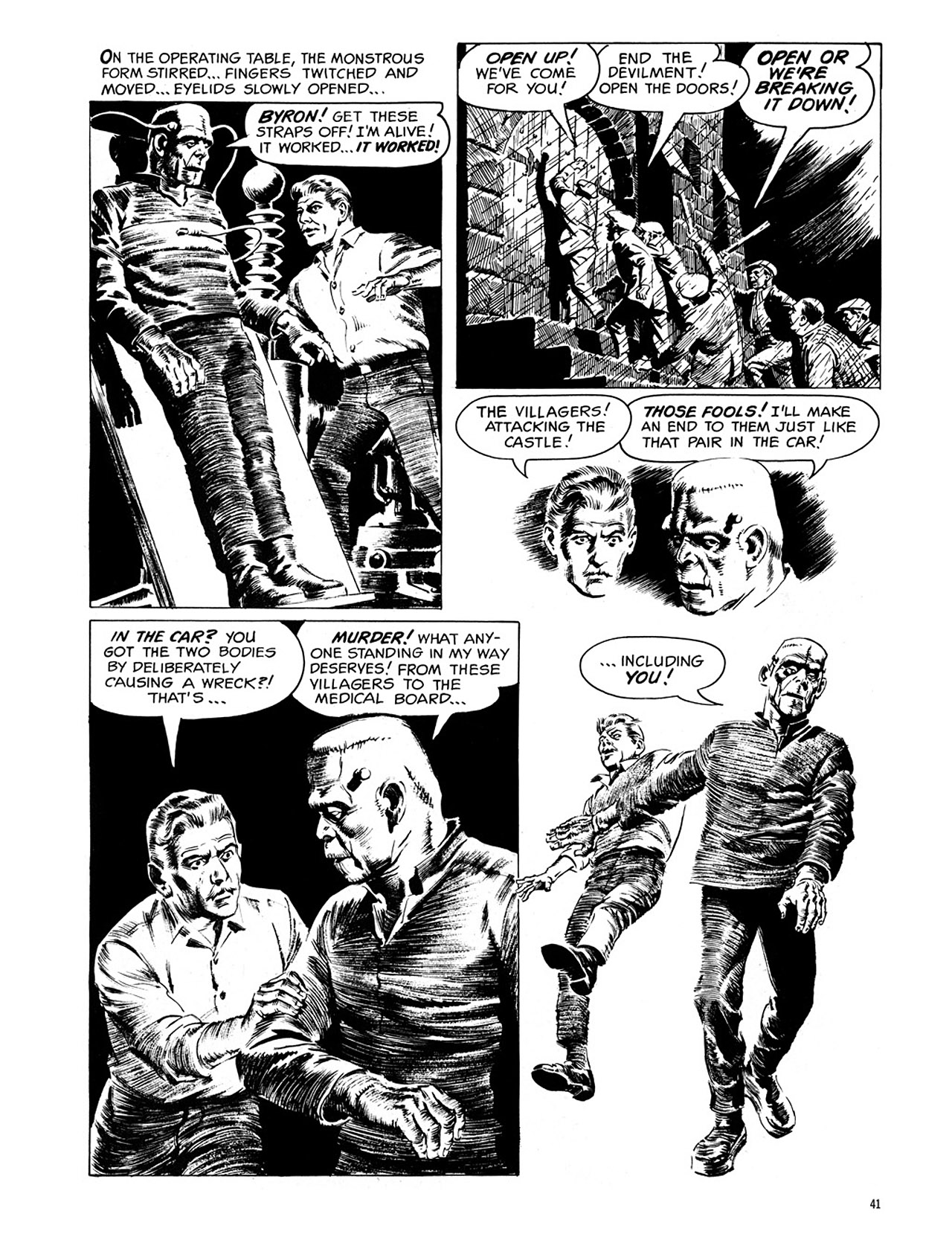 Read online Eerie Archives comic -  Issue # TPB 1 - 42