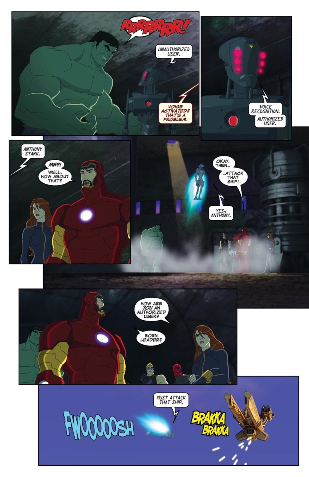 Read online Marvel Universe Avengers Assemble Season 2 comic -  Issue #1 - 18