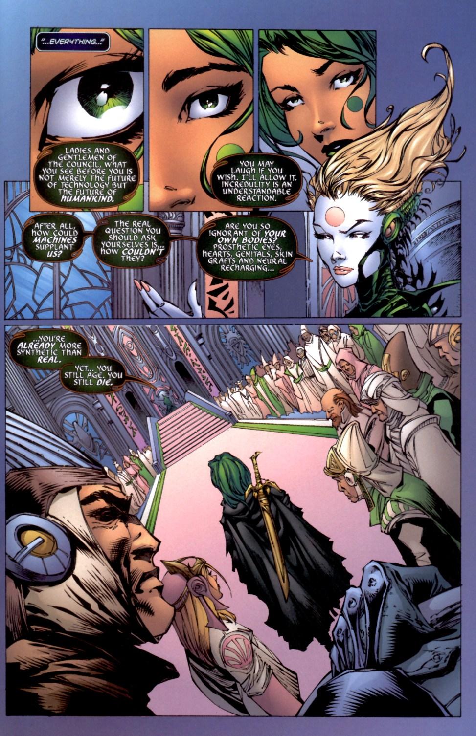 Read online Aphrodite IX (2000) comic -  Issue #4 - 26