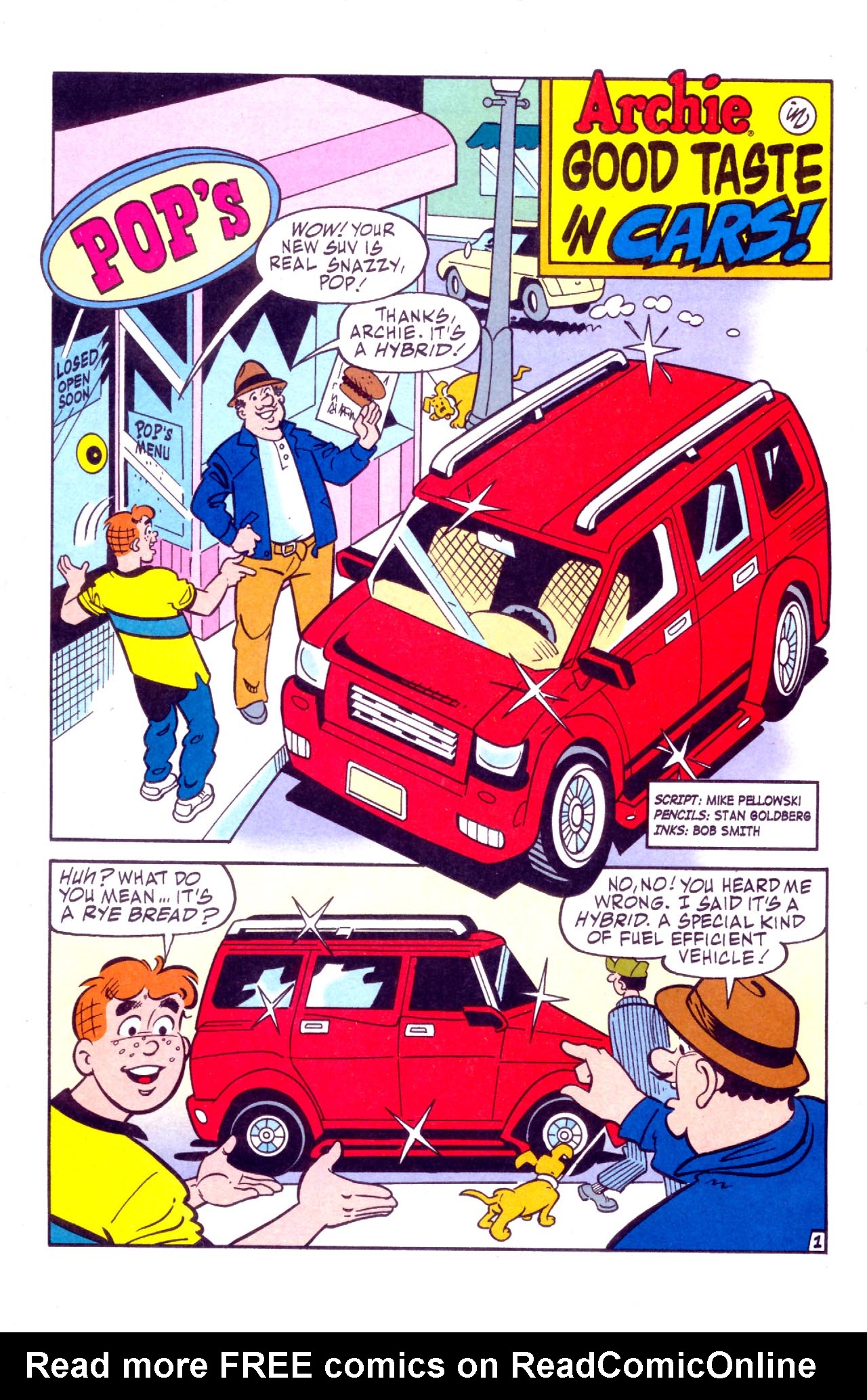 Read online Archie (1960) comic -  Issue #575 - 8