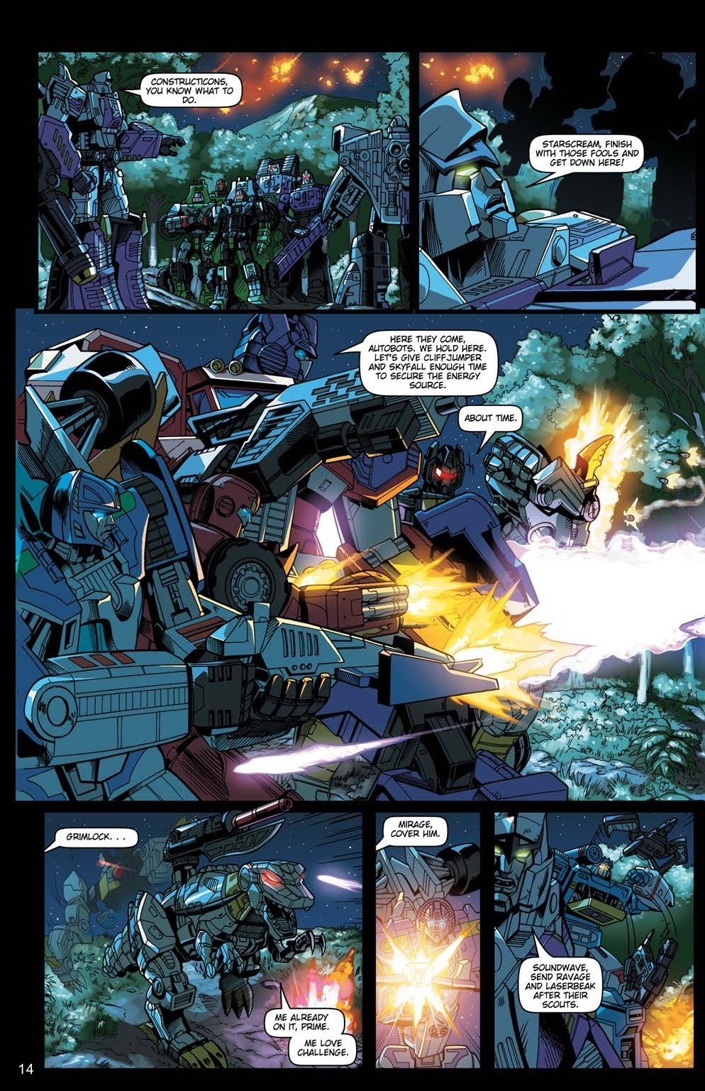 Read online Transformers: Collectors' Club comic -  Issue #15 - 14