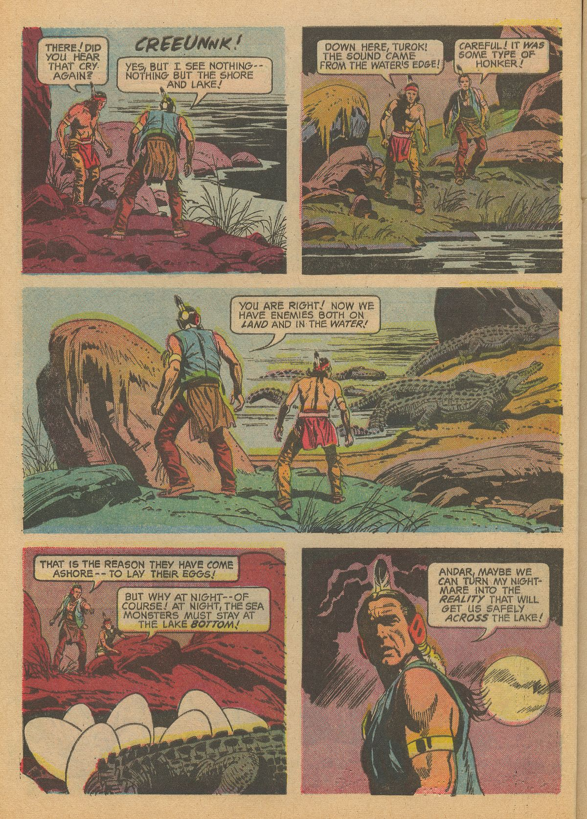 Read online Turok, Son of Stone comic -  Issue #60 - 8