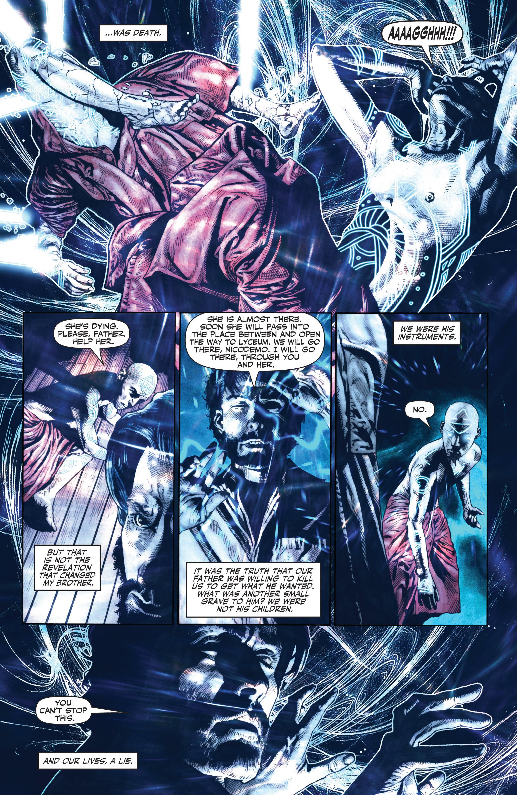 Read online Shadowman (2012) comic -  Issue #0 - 21