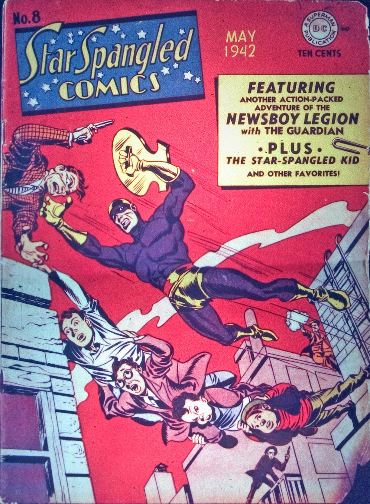Star Spangled Comics (1941) 8 Page 1