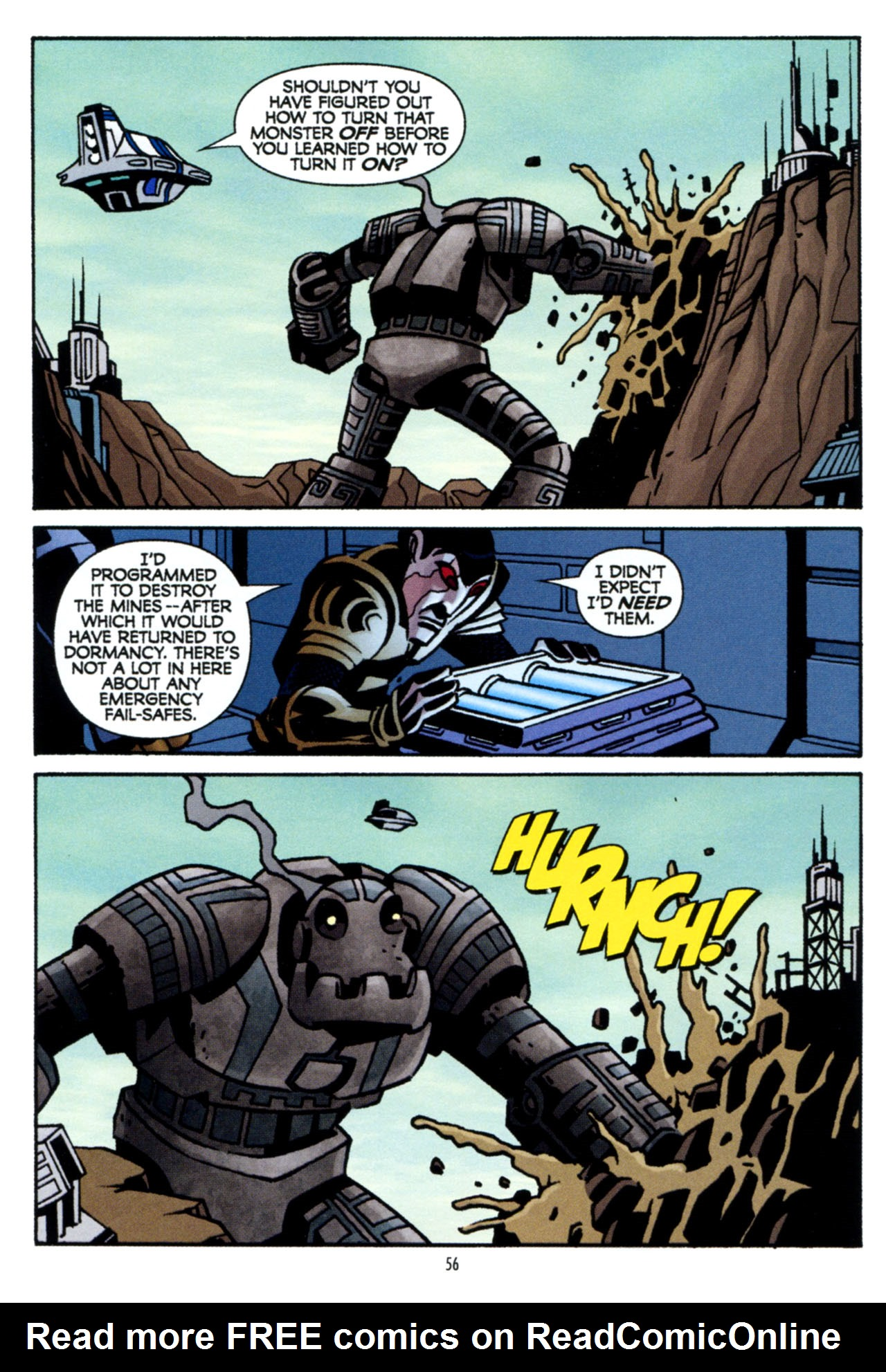 Read online Star Wars: The Clone Wars - The Colossus of Destiny comic -  Issue # Full - 56