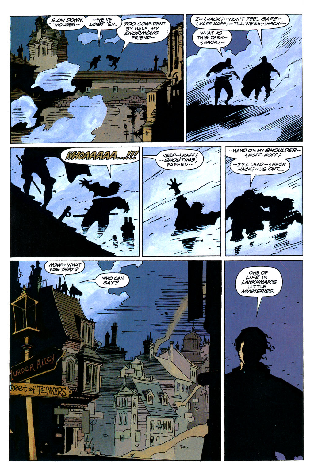 Read online Fafhrd and the Gray Mouser comic -  Issue #1 - 32
