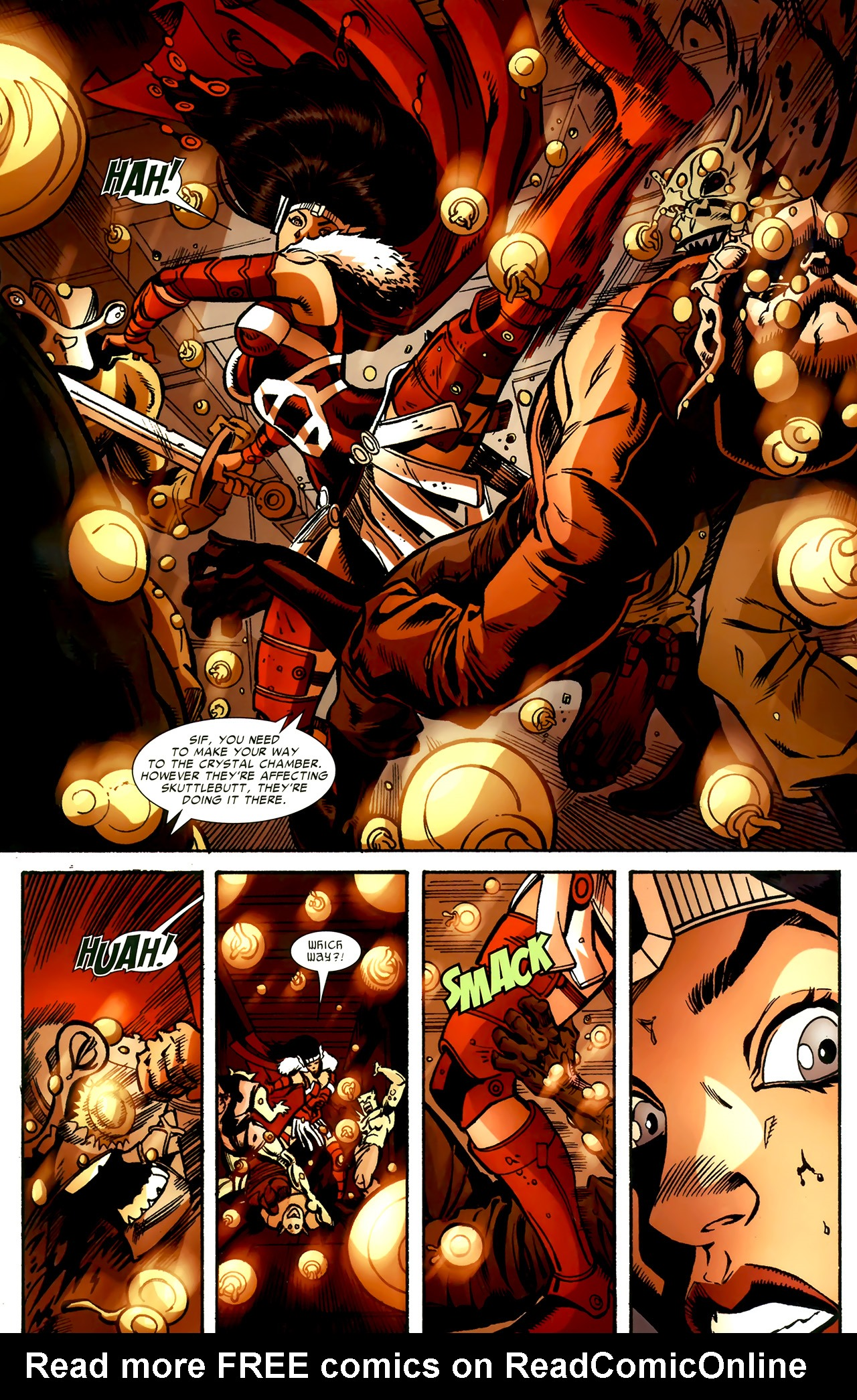 Read online Sif comic -  Issue # Full - 16