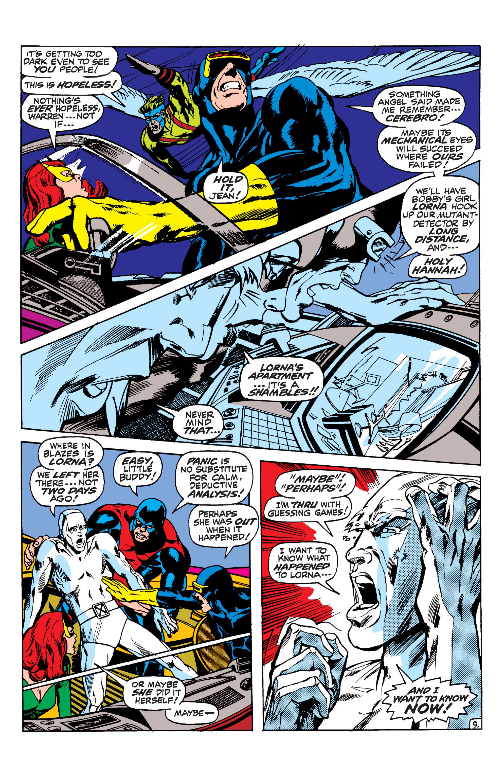 Uncanny X-Men (1963) 57 Page 9