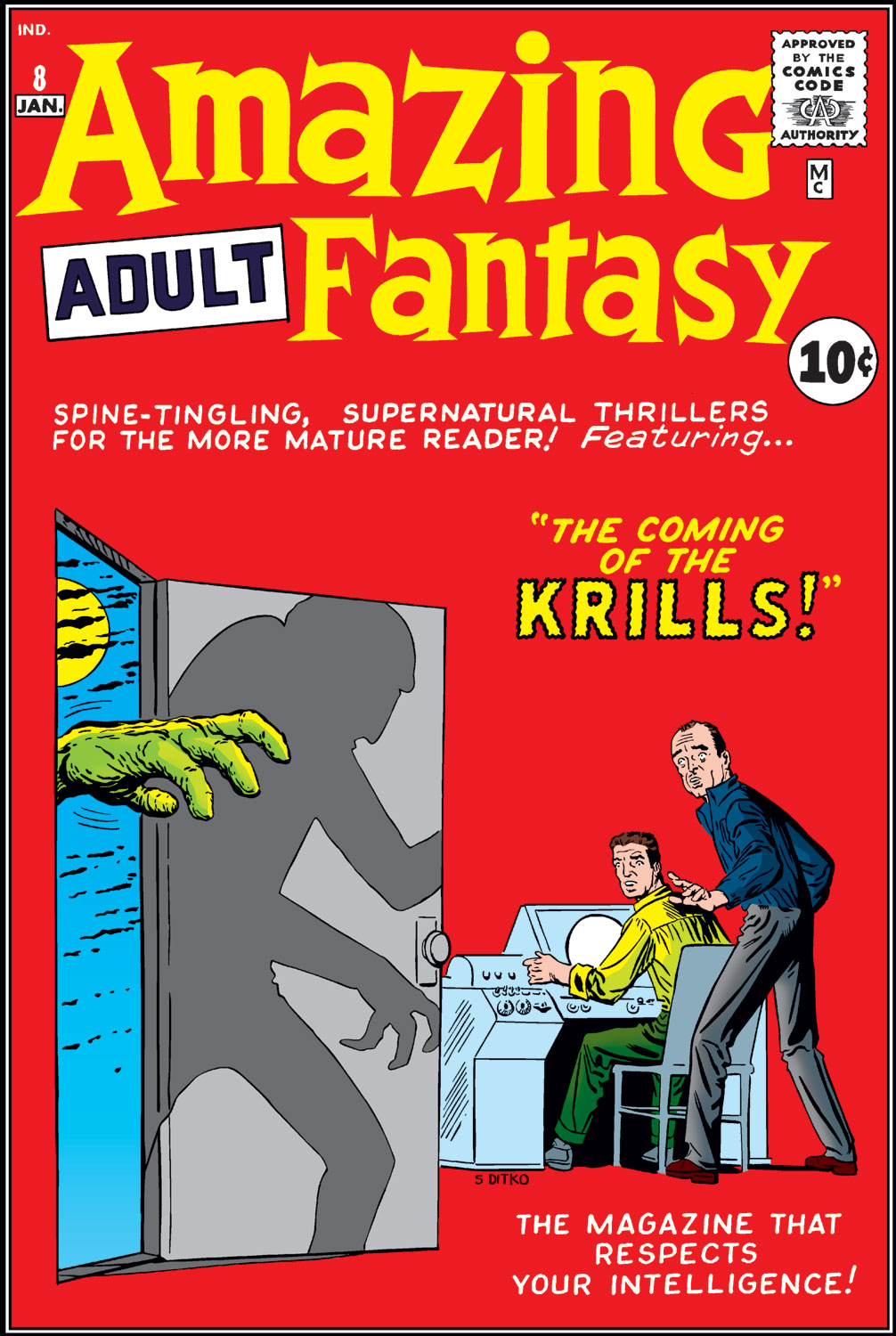 Read online Amazing Adult Fantasy comic -  Issue #8 - 1