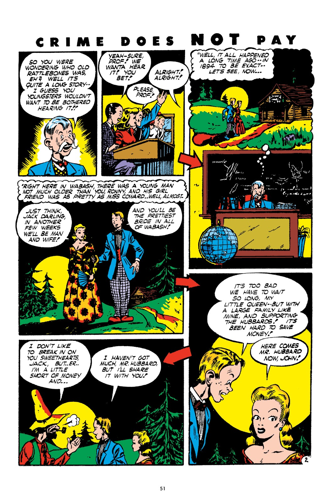 Read online Crime Does Not Pay Archives comic -  Issue # TPB 2 (Part 1) - 51