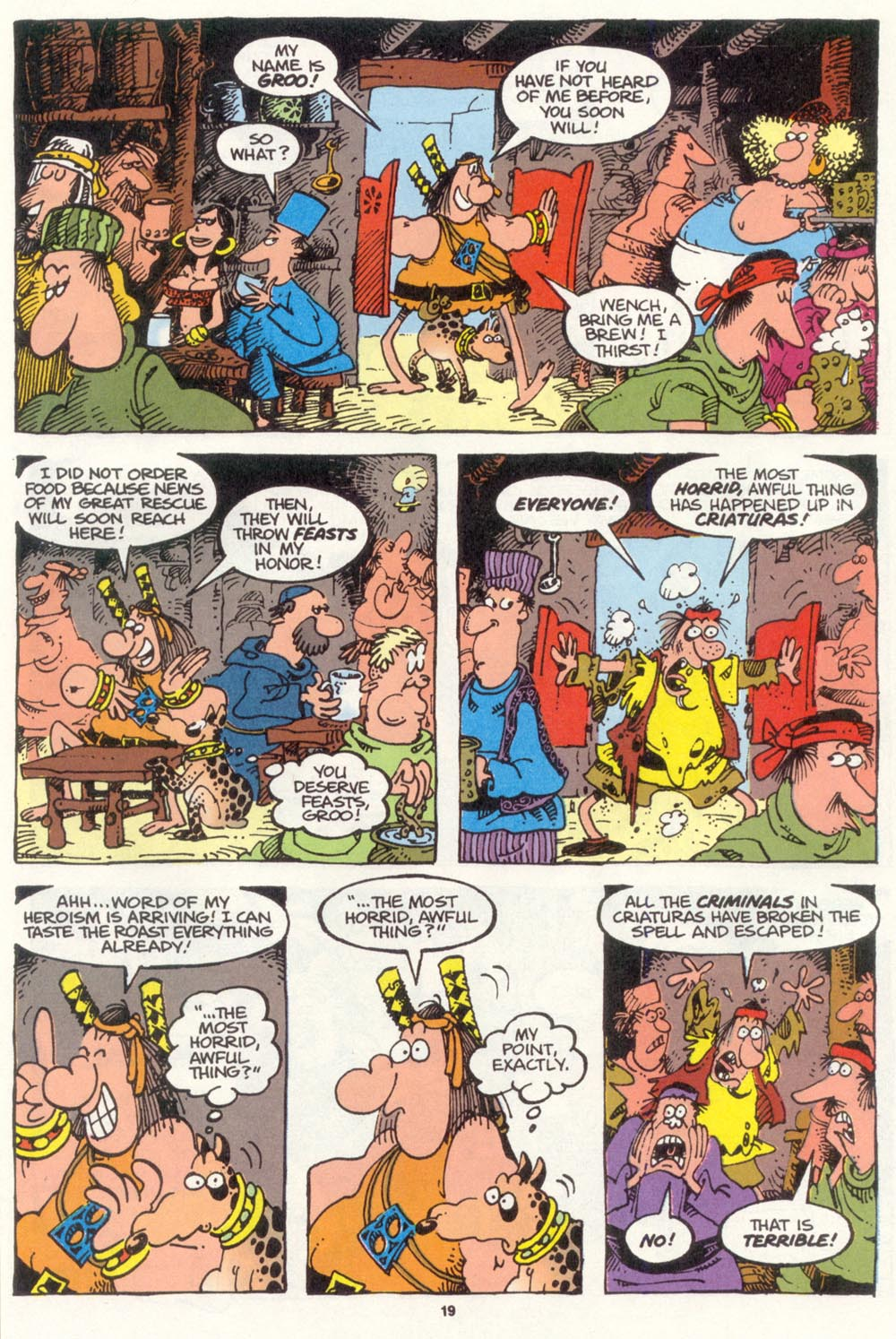 Read online Sergio Aragonés Groo the Wanderer comic -  Issue #105 - 21