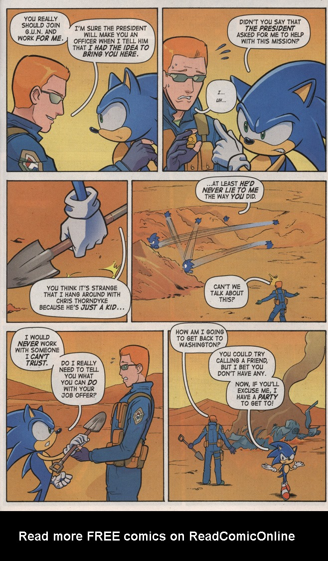 Read online Sonic X comic -  Issue #7 - 31