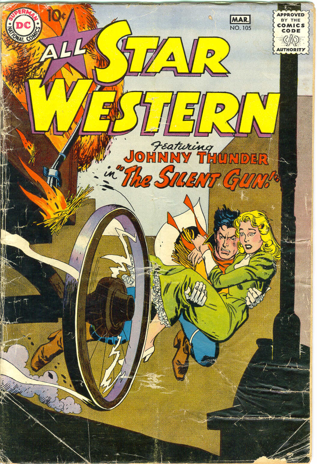 Read online All-Star Western (1951) comic -  Issue #105 - 1