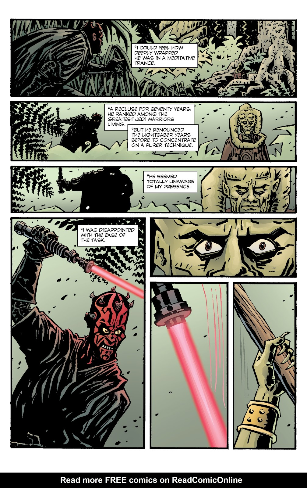 Read online Star Wars Legends: Rise of the Sith - Epic Collection comic -  Issue # TPB 1 (Part 4) - 48