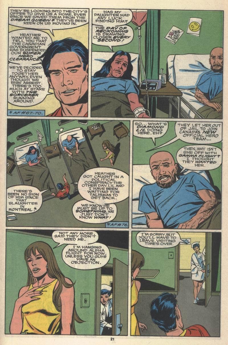 Read online Alpha Flight (1983) comic -  Issue #78 - 18