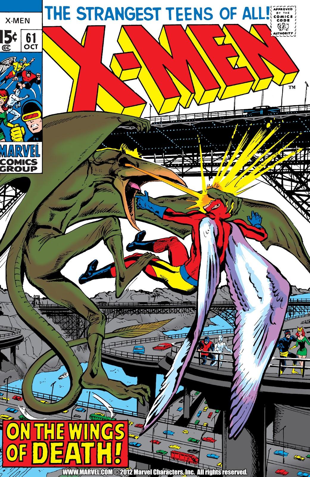 Uncanny X-Men (1963) issue 61 - Page 1