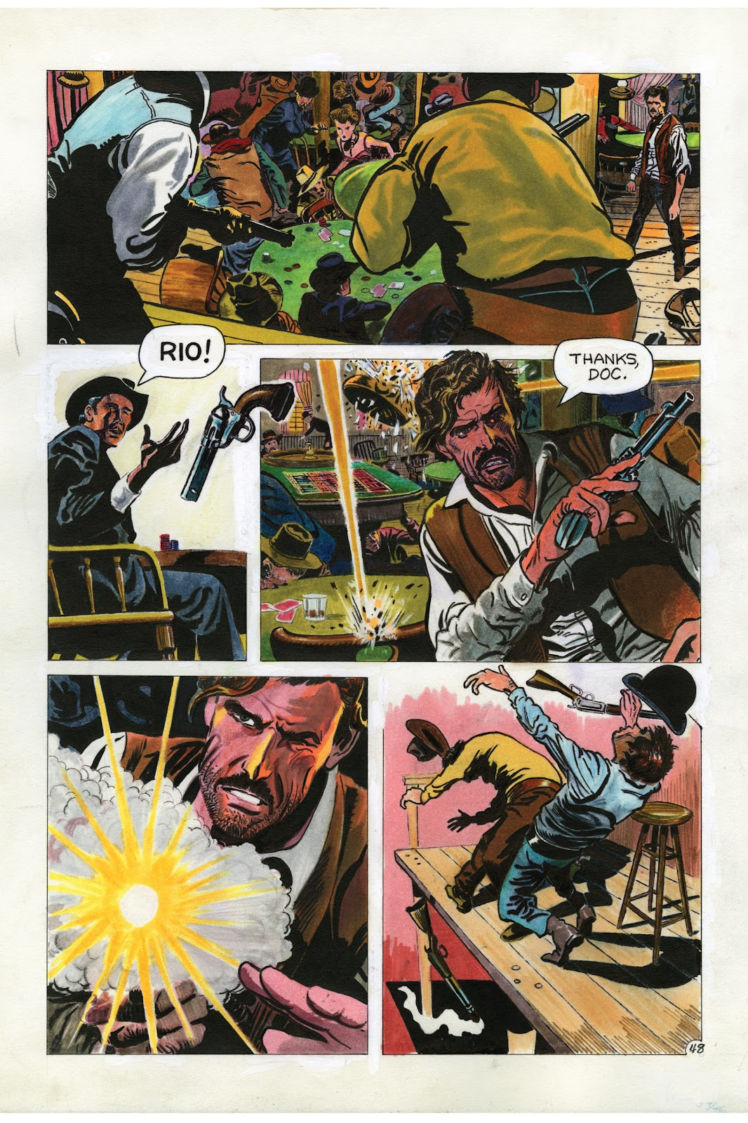 Read online Doug Wildey's Rio: The Complete Saga comic -  Issue # TPB (Part 2) - 83
